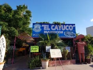 Tacos across from Marina